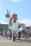 Pastori the Giant Peace Puppet